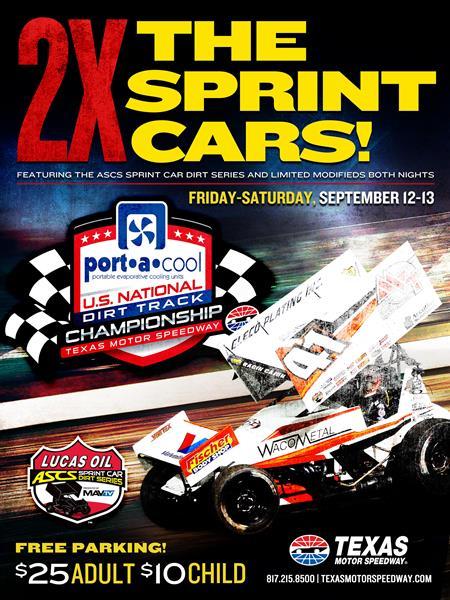 Quick Look: Texas Motor Speedway Dirt Track
