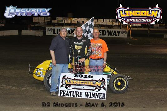 Baugh Dominates Lincoln Sprint Car Racing News And Press Releases