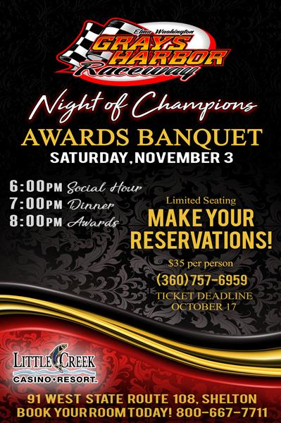 2018 awards banquet myracepass online ticket sales race