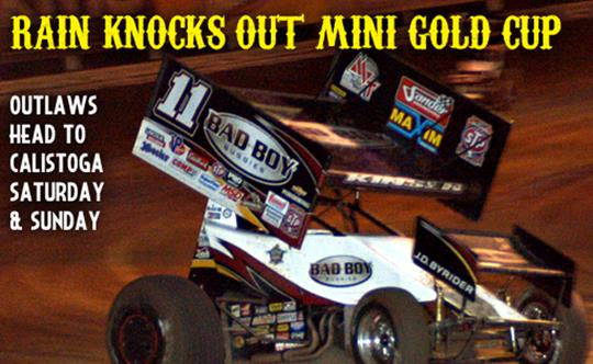 Overnight Rain Forces Cancellation of World of Outlaws STP