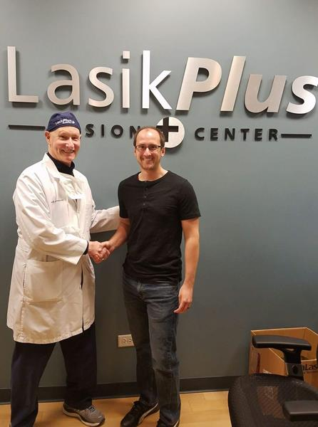 Kevin Zielezinski And Lee Faulk Racing Partner With LasikPlus