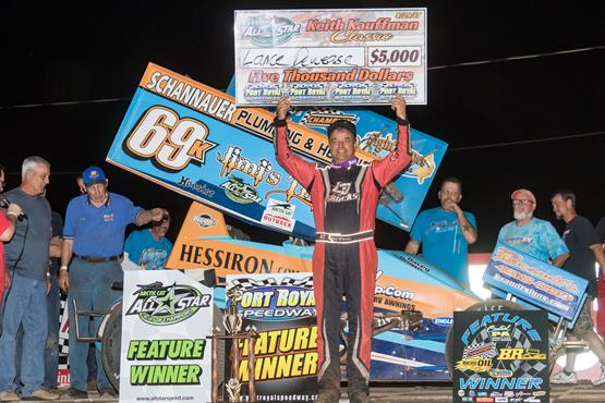 Lance Dewease goes wire-to-wire for Keith Kauffman Classic victory at Port Royal Speedway