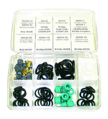AP Air Inc - R12 and R134 Gauge Set and Charging Hose O-Rings and