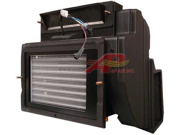 940038e7862 AP Air Inc - F31-1036-1 - Kenworth Complete Evaporator and Heater Assembly  with Spal Blower Update Kit