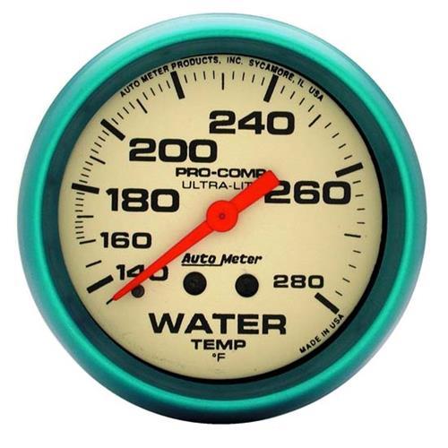 Auto Meter 4535 Ultra-Nite Mechanical Water Temperature