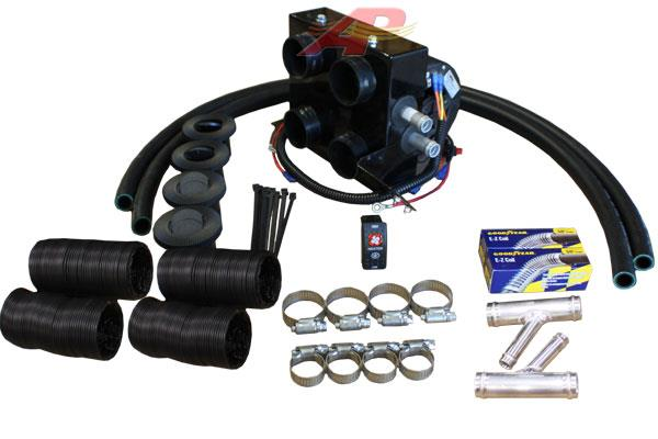 Ap Air Inc Polaris Ranger Heater Kit With Defrost