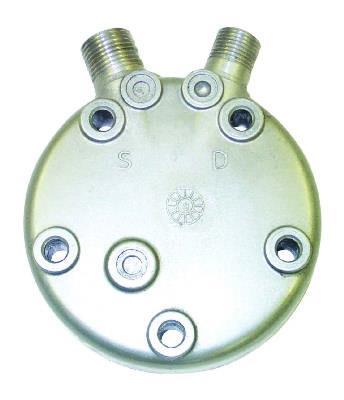 AP Air Inc - Sanden FL Rear Head, SD508, SD5H09, SD5H14 Vertical 8
