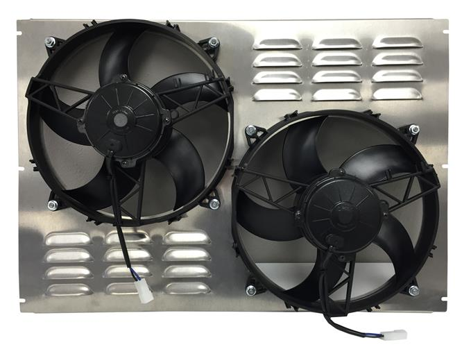 Dual 11 U0026quot  Spal High Performance Fans