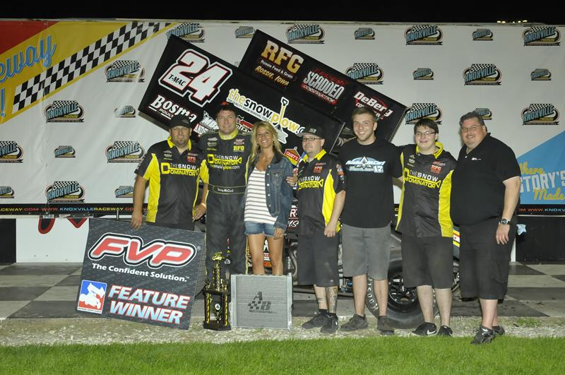 Terry McCarl Tops FVP National Sprint League at Knoxville
