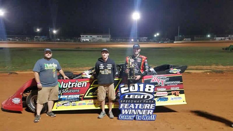 Billy Moyer Jr Debuts New Black Diamond Race Car With Legit Victory