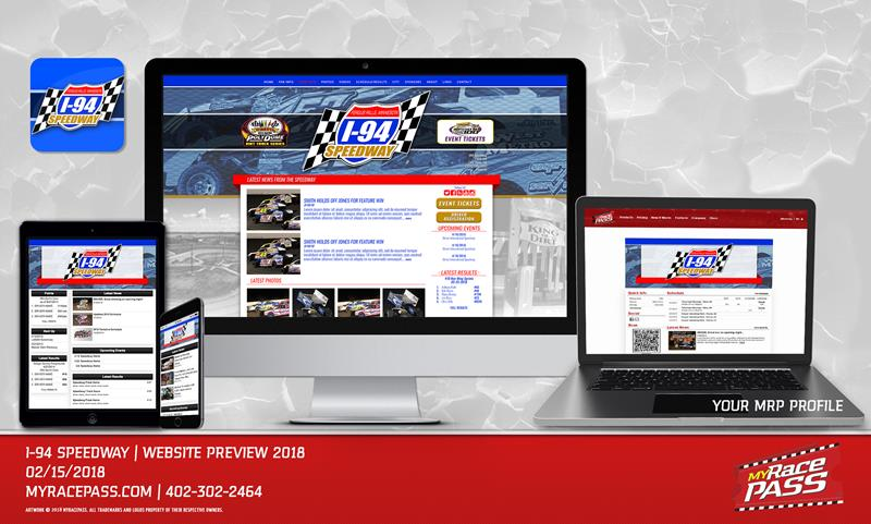 MyRacePass Builds Track Website for I-94 Speedway - MyRacePass