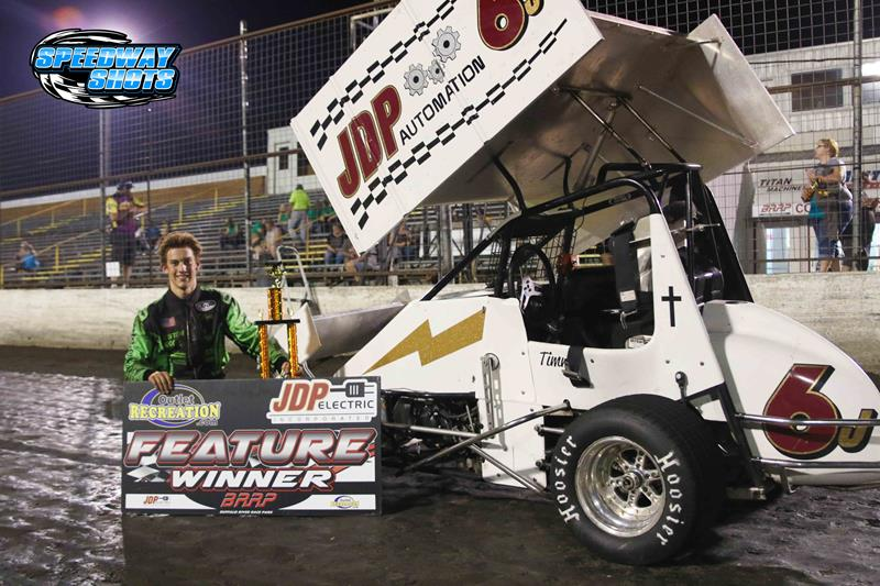 Estenson Writes Buffalo River Race Park History with Three-Win Night