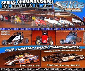 It S Championships Week At Lonestar Speedway Sat Nov 10 6pm