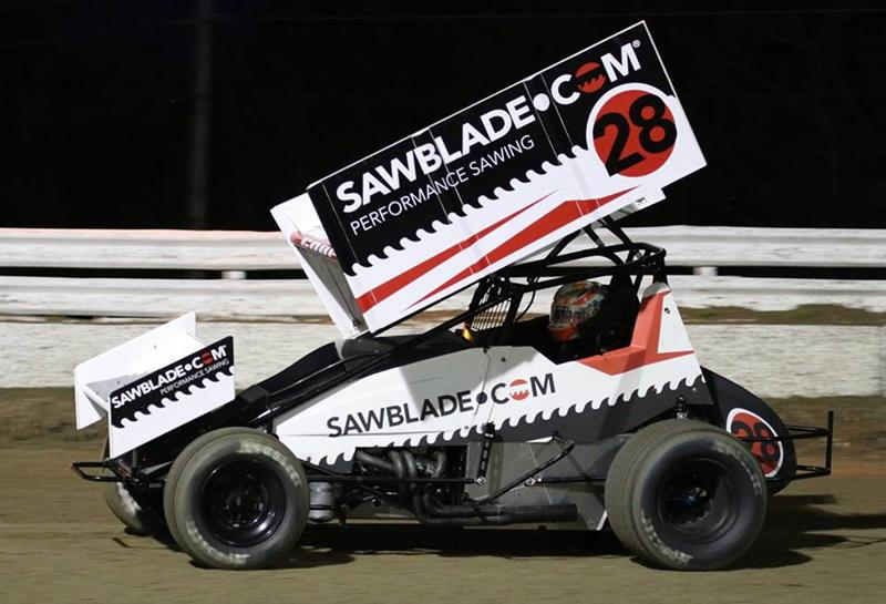 Bubba Raceway Park >> Thorson Guides Sawblade Com Sponsored Car To Top Five At Bubba