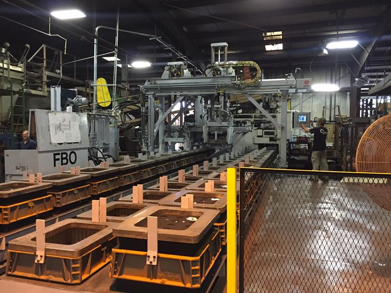 T&L Foundry Updates Mold Handling Line To Roberts Sinto - T&L