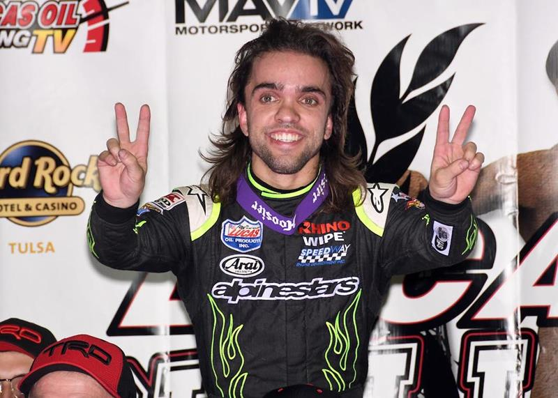 VIDEO: LIVE from the Chili Bowl Nationals - Rico Abreu