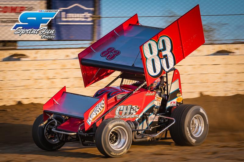 Chaney and CH Motorsports Halted by Cut Tire at Mansfield