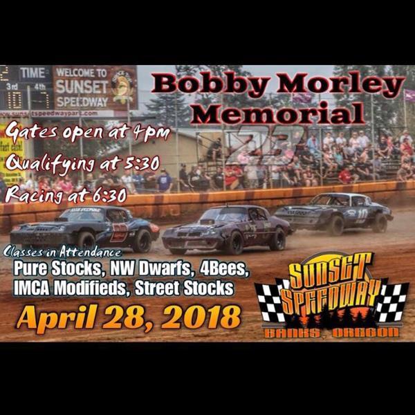 SSP Returns For The Bobby Morley Memorial Saturday April 28th