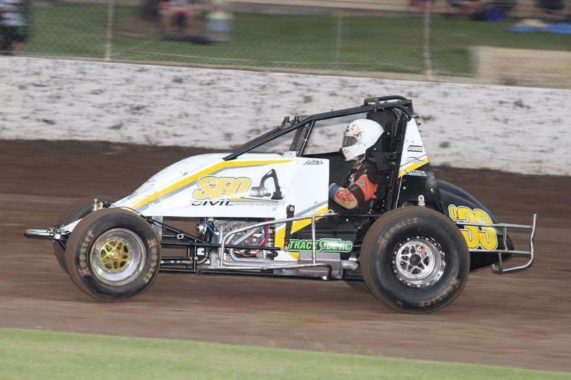 the rise from down under c j johnson sprint car racing news