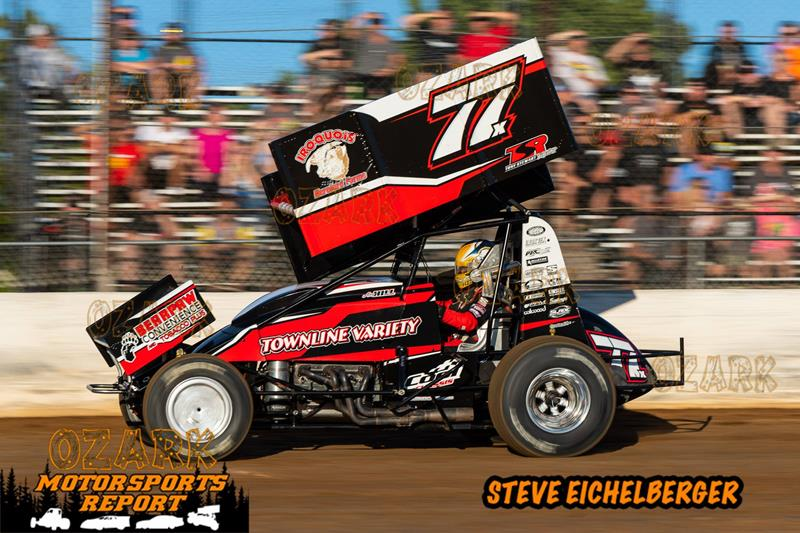 Hill Gains Experience and Heat Race Win in First Visit to
