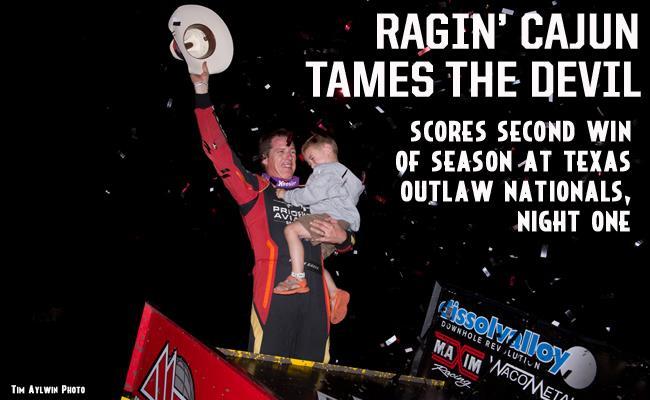 The Ragin' Cajun Scores His First Devil's Bowl Win - MyRacePass