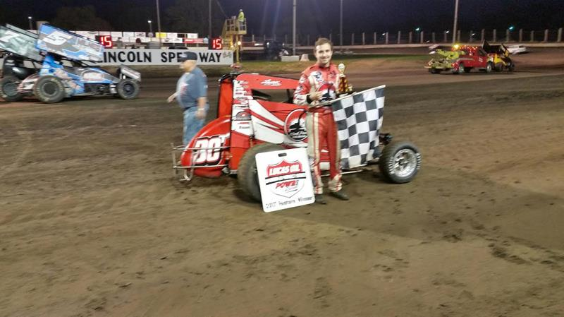 Vantoll Victorious At Lincoln Mitchell Davis Sprint Car Racing