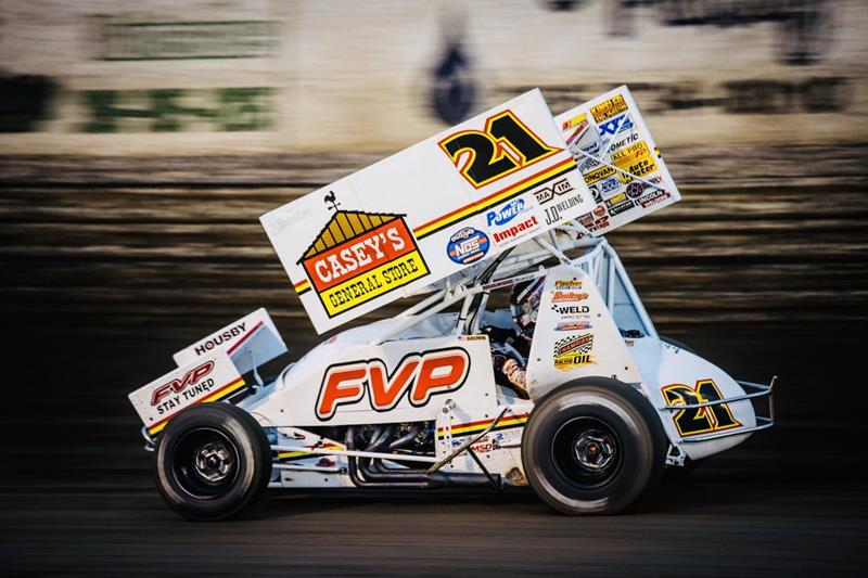 Brian Brown Eyeing World of Outlaws Win in Las Vegas During