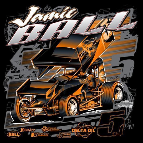 Race Car T Shirt Designs | New 2010 Jamie Ball T Shirt Designs Myracepass Online Ticket