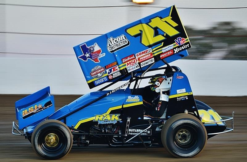 Kulhanek Qualifies for Both World of Outlaws Features in