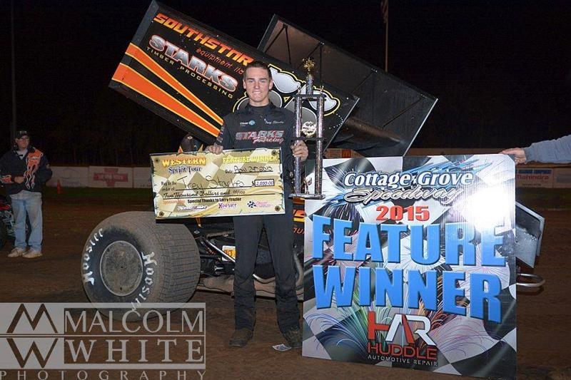 Starks Sails to Inaugural Western Sprint Tour Win, Caps