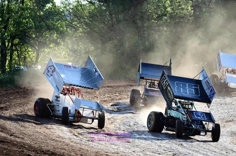 TUESDAY, AUGUST 14TH INTERSTATE SPRINT CAR SERIES & DWARF CARS STOP