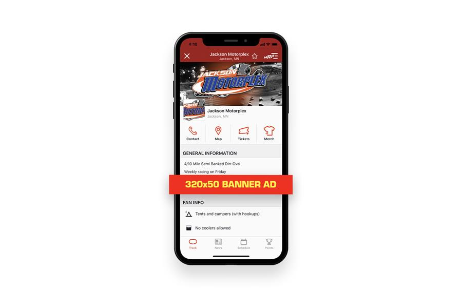MyRacePass App Banners