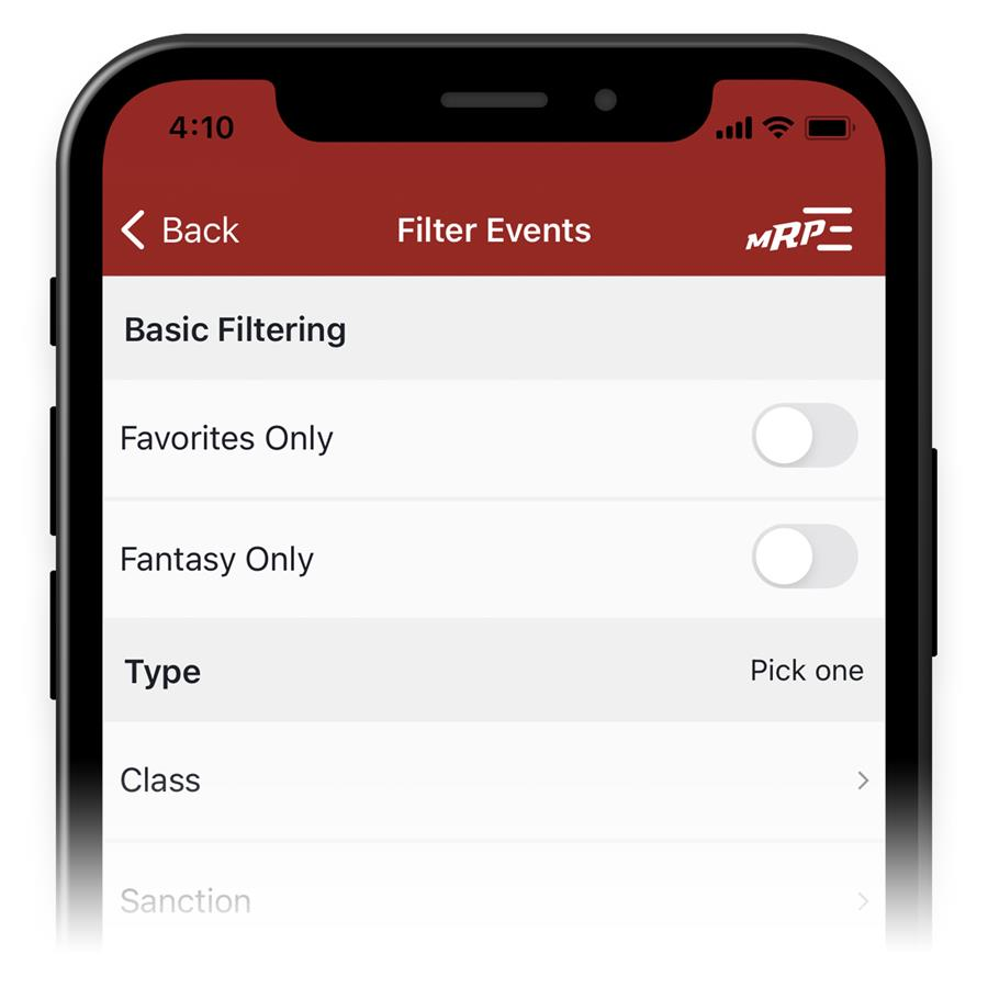 Advanced Event Filtering