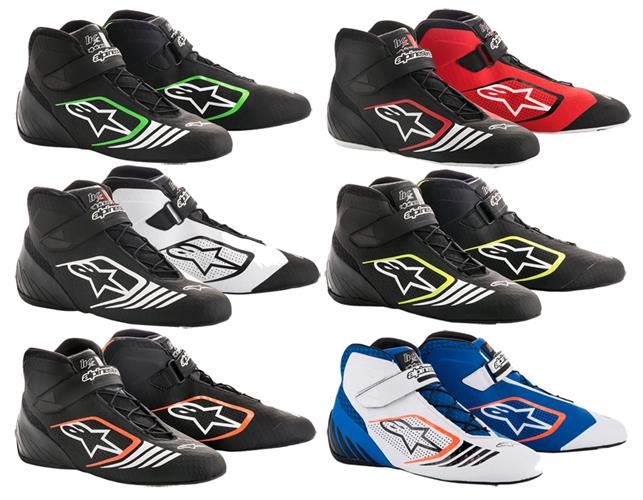 Alpinestars 2712118-156-11 Tech 1-KX Shoes Black//Orange Fluorescent Size 11