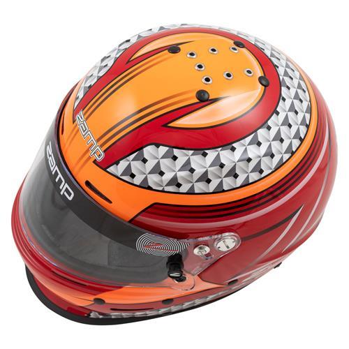 Zamp RZ-62 Aramid Mix SNELL SA2020 Red//Orange Small