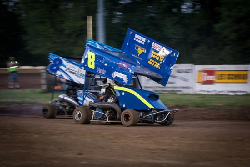 Cottage Grove Speedway   Dirt Track Racing, Sprint Cars