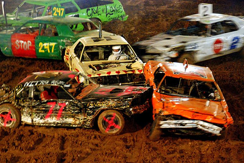 Demo Derby & Trailer Race: Entry Instructions and Rules