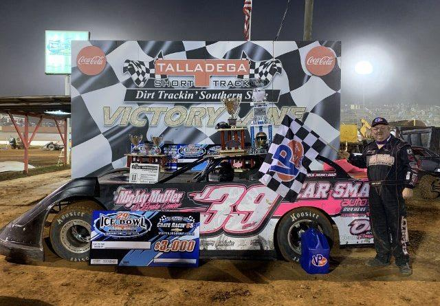 elliott bags second straight crate racin usa ice bowl win at tst crate racin usa dirt late model series crate racin usa dirt late model series