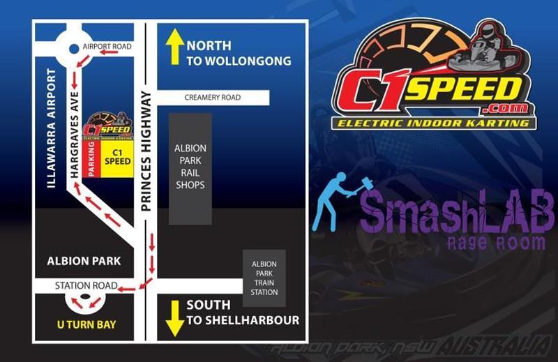 C1 Speed | Indoor karting in Albion Park, NSW Australia