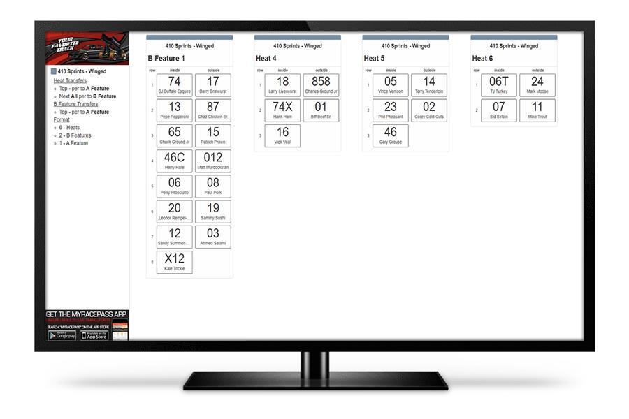 Lineup Monitor